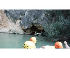 Rafting en el Cañón de Almadenes